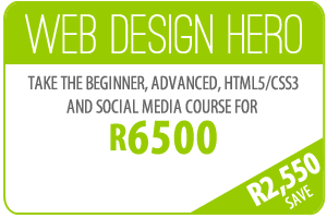 Web Design Training Specials Durban South Africa