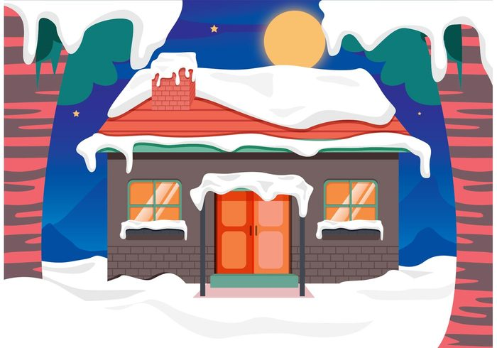 log-cabin-snow-vector