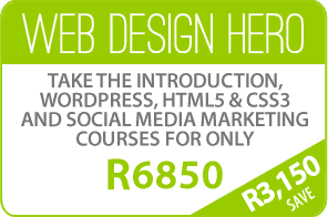 Website Design Course Specials Durban